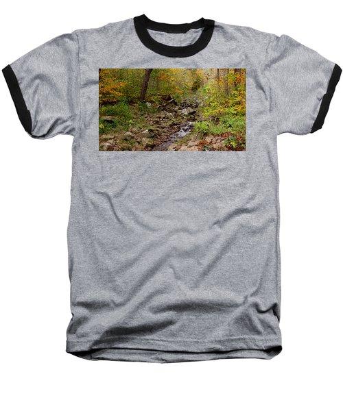 Baxter's Hollow II Baseball T-Shirt by Kimberly Mackowski