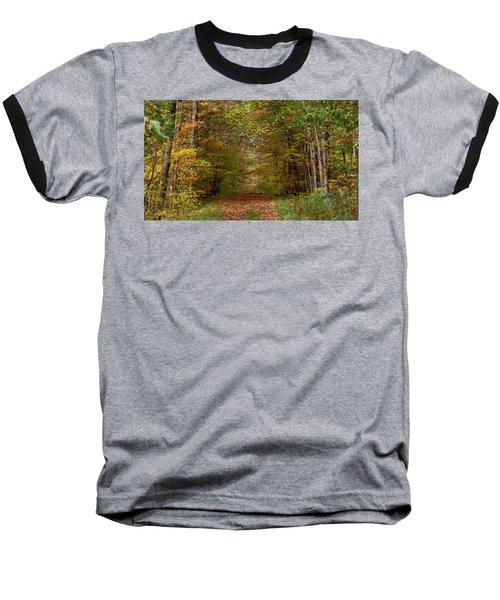 Baxter's Hollow  Baseball T-Shirt by Kimberly Mackowski