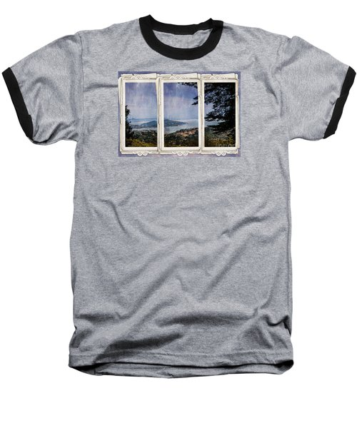 Baseball T-Shirt featuring the photograph Bay Area by Judy Wolinsky