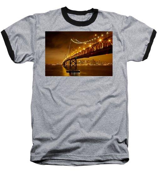 Baseball T-Shirt featuring the photograph Bay Bridge by Evgeny Vasenev
