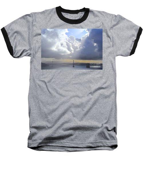 Bay Bridge Glow Baseball T-Shirt