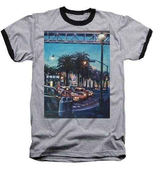 Bay Bridge Baseball T-Shirt by Rick Nederlof
