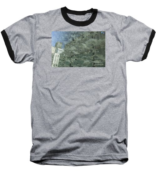 Baseball T-Shirt featuring the photograph Bay City Reflections by Jeanette French