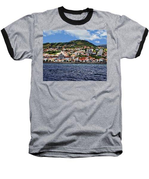 Bay Of Horta Baseball T-Shirt