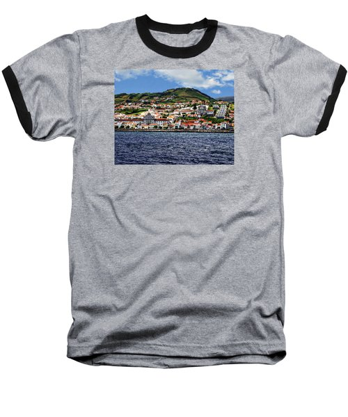 Bay Of Horta Baseball T-Shirt