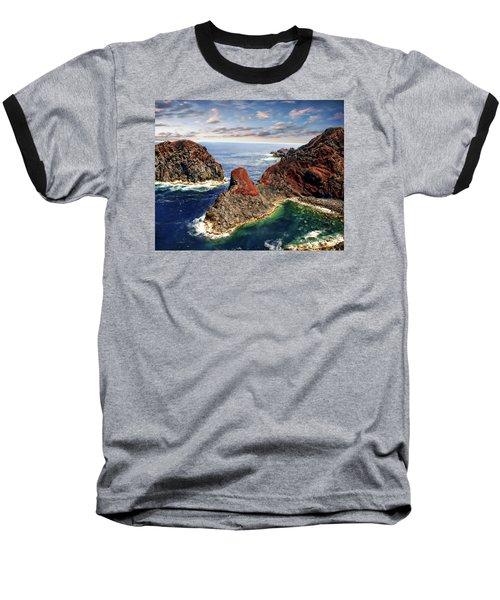 Bay Of Ponta Da Barca Baseball T-Shirt