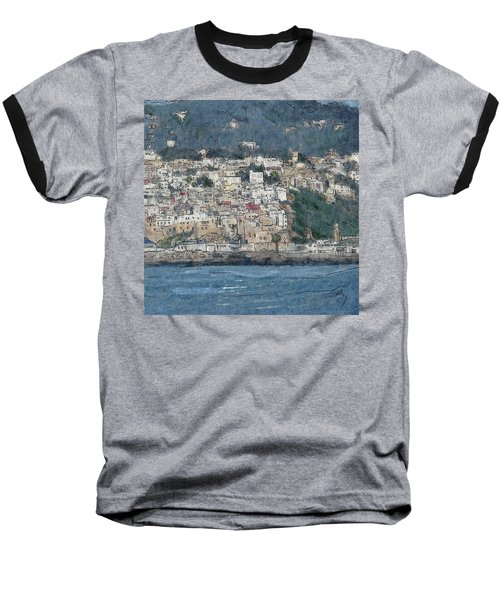 Bay Of Tangier Baseball T-Shirt
