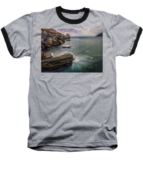 Bay Of The Gulf Of Poets Baseball T-Shirt