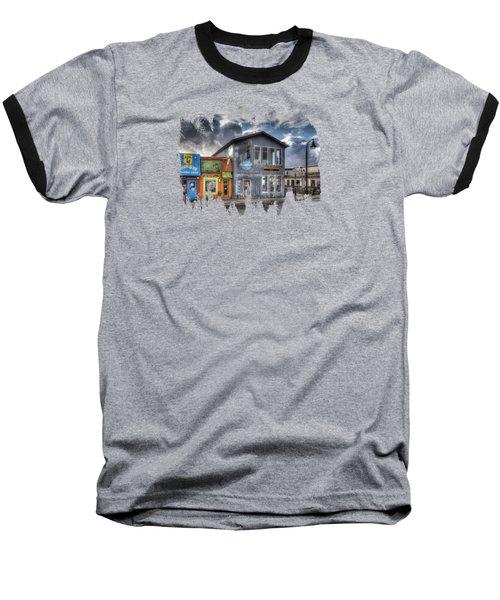 Bay Street Morning Baseball T-Shirt by Thom Zehrfeld