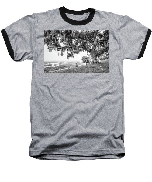Bay Street Oak View Baseball T-Shirt by Scott Hansen