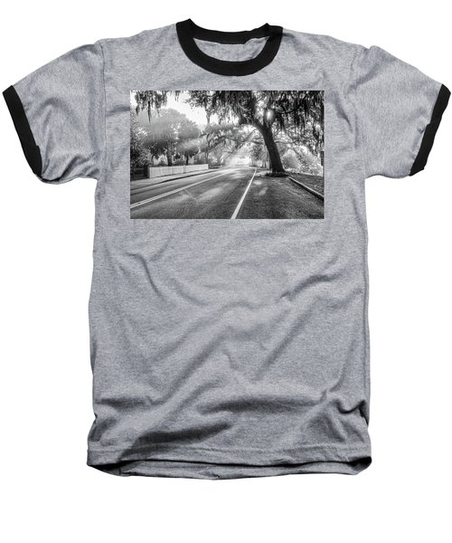 Bay Street Rays Baseball T-Shirt by Scott Hansen