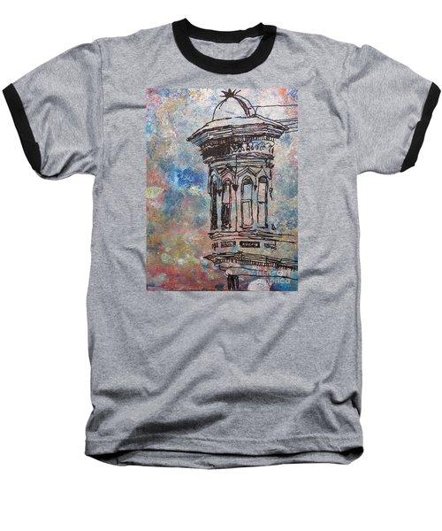 Bay Window Baseball T-Shirt by John Fish