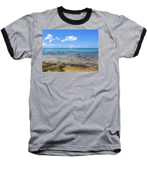 Bayahibe Coral Reef Baseball T-Shirt