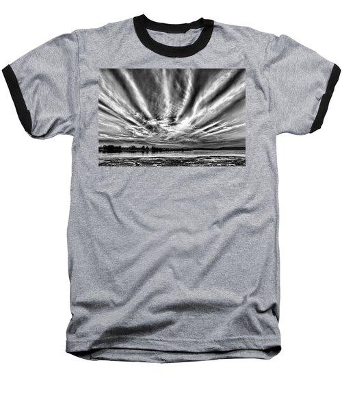 Bayfarm Island Sunrise Baseball T-Shirt