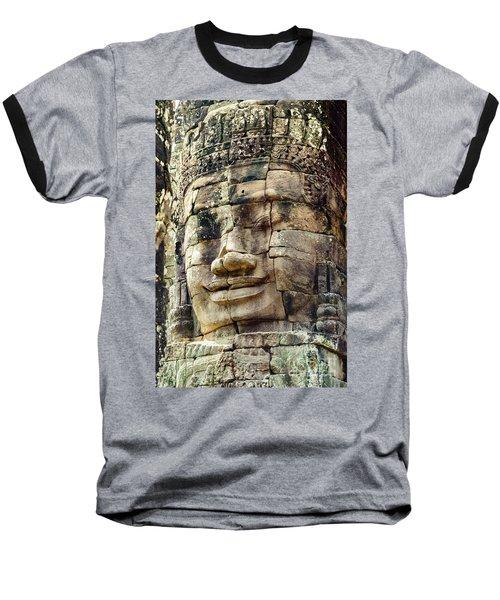 Bayon 2 Baseball T-Shirt by Werner Padarin