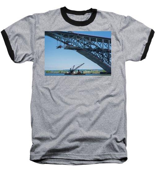 Bayonne Bridge Raising 2 Baseball T-Shirt