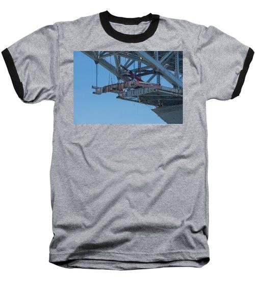 Bayonne Bridge Raising 4 Baseball T-Shirt