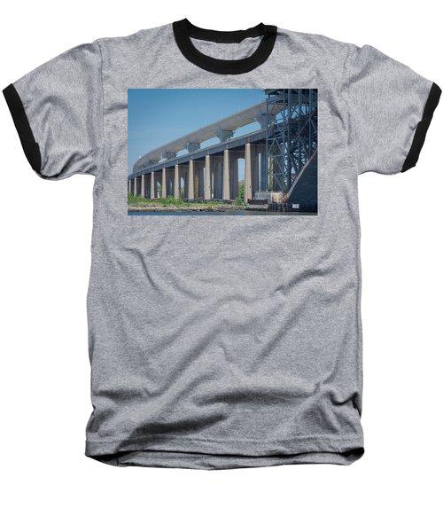 Bayonne Bridge Raising #5 Baseball T-Shirt