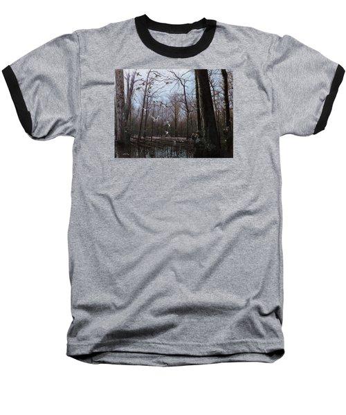 Bayou Meto Morning Baseball T-Shirt