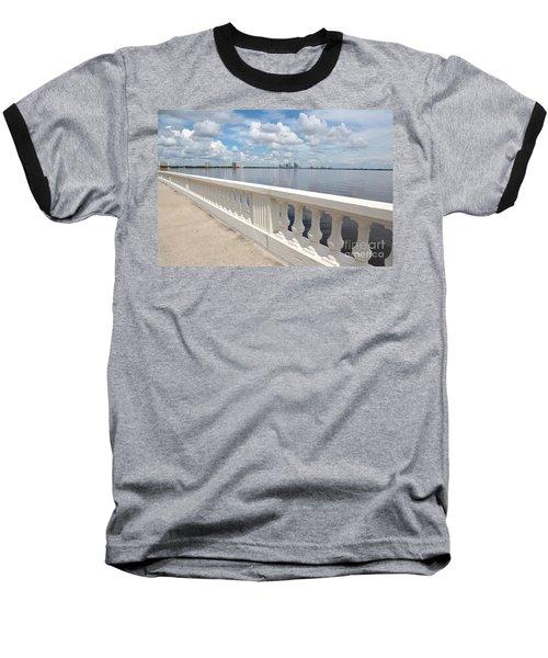 Bayshore Boulevard Balustrade Baseball T-Shirt