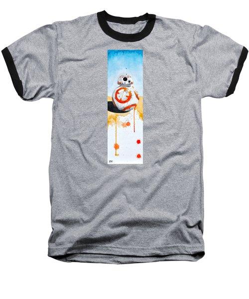 BB8 Baseball T-Shirt by David Kraig