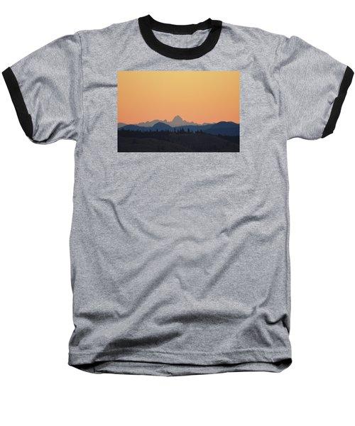 B C Dawn Baseball T-Shirt by Ed Hall