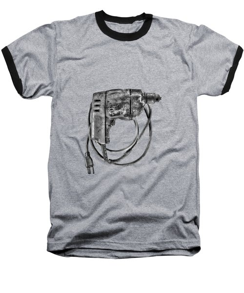 Bd Drill Motor Bw Baseball T-Shirt