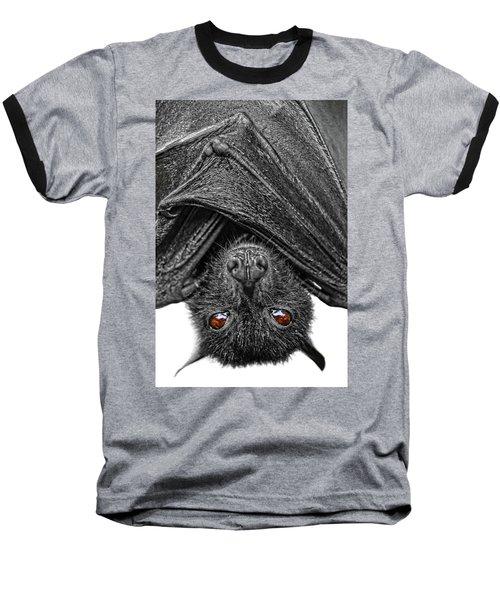 Be Afraid  Baseball T-Shirt