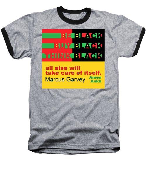 Be Black Rbg Baseball T-Shirt
