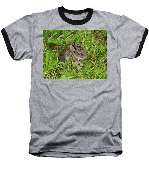 Baseball T-Shirt featuring the photograph Be Brave. Take A Chance. by Vadim Levin