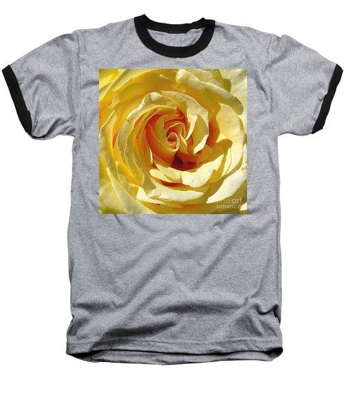 Be Still And Know Baseball T-Shirt by Gina Savage