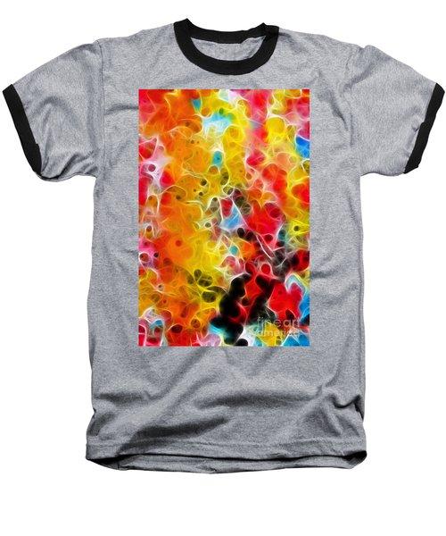Be Strong Do Not Fear Isaiah 35 4-5 Baseball T-Shirt