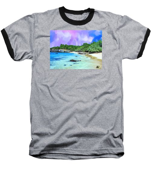 Beach 69 Big Island Baseball T-Shirt