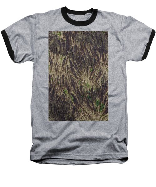 Beach Abstract 21 Baseball T-Shirt