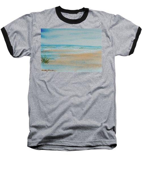 Beach At High Tide Baseball T-Shirt