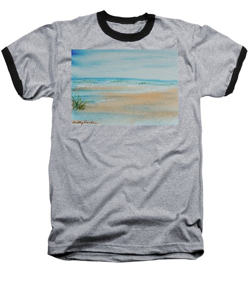 Beach At High Tide Baseball T-Shirt