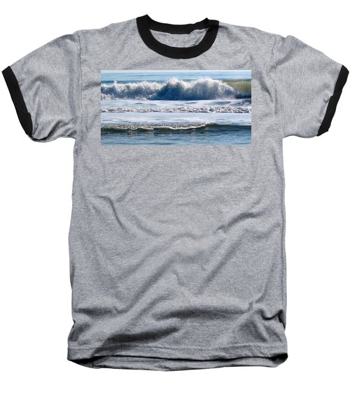 Beach At Iop Baseball T-Shirt