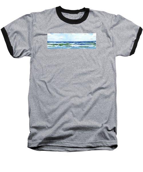 Beach At Isle Of Palms Two Baseball T-Shirt