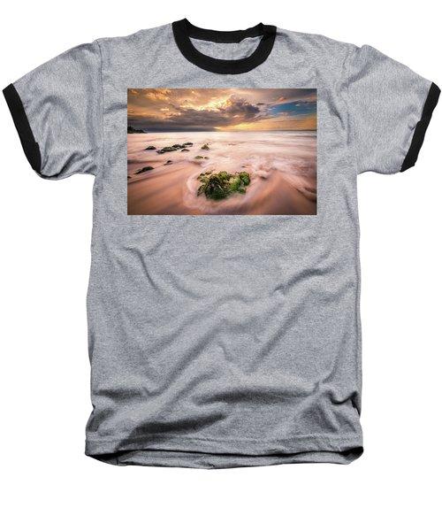 Beach At Paia Baseball T-Shirt