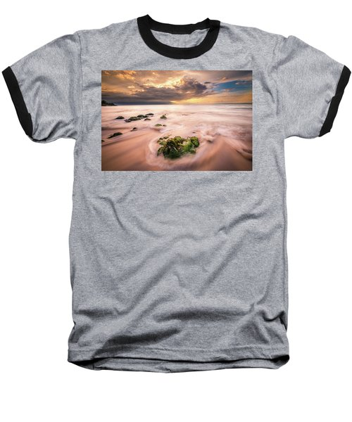 Beach At Paia Baseball T-Shirt