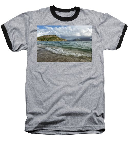 Beach At St. Kitts Baseball T-Shirt