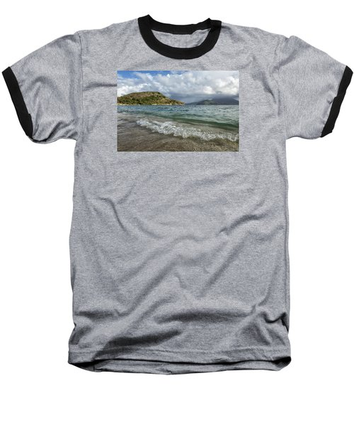 Baseball T-Shirt featuring the photograph Beach At St. Kitts by Belinda Greb