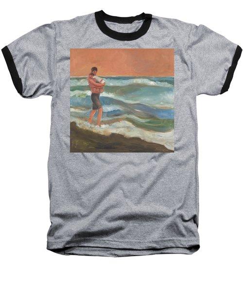 Beach Baby Baseball T-Shirt