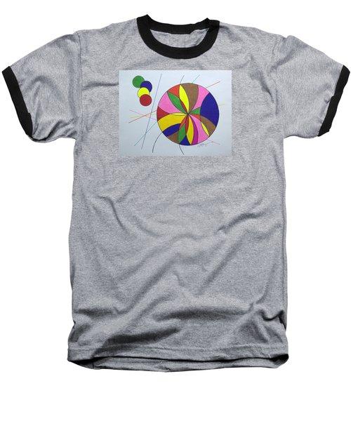 Beach Ball Time Baseball T-Shirt
