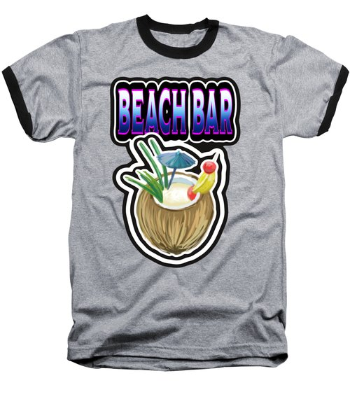 Beach Bar Baseball T-Shirt