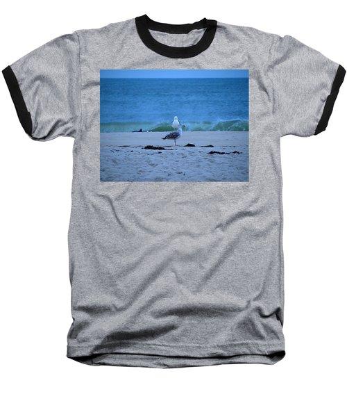 Baseball T-Shirt featuring the photograph Beach Birds by  Newwwman