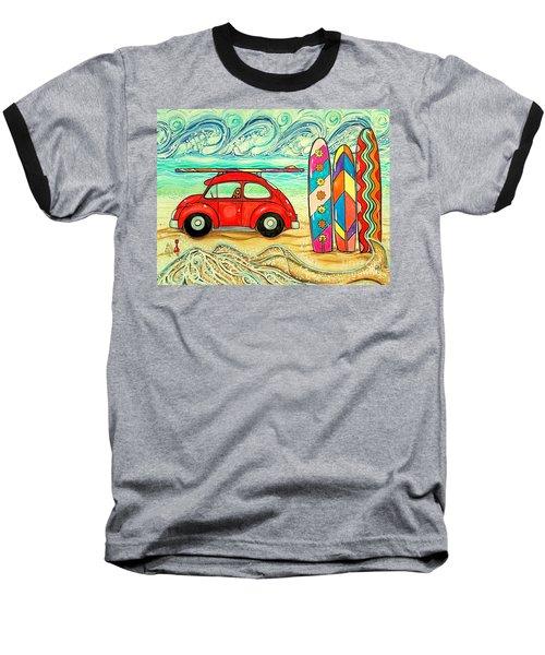 Beach Bug Baseball T-Shirt