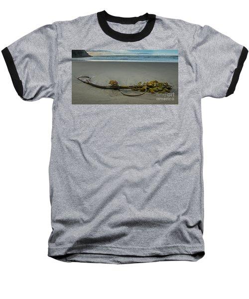 Beach Bull Kelp Laying Solo Baseball T-Shirt