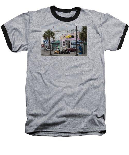 Beach Bums - Myrtle Beach South Carolina Baseball T-Shirt by Suzanne Gaff