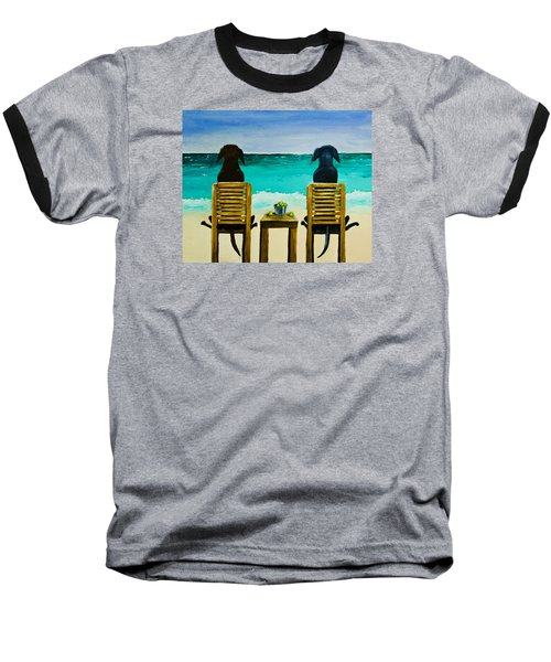 Beach Bums Baseball T-Shirt